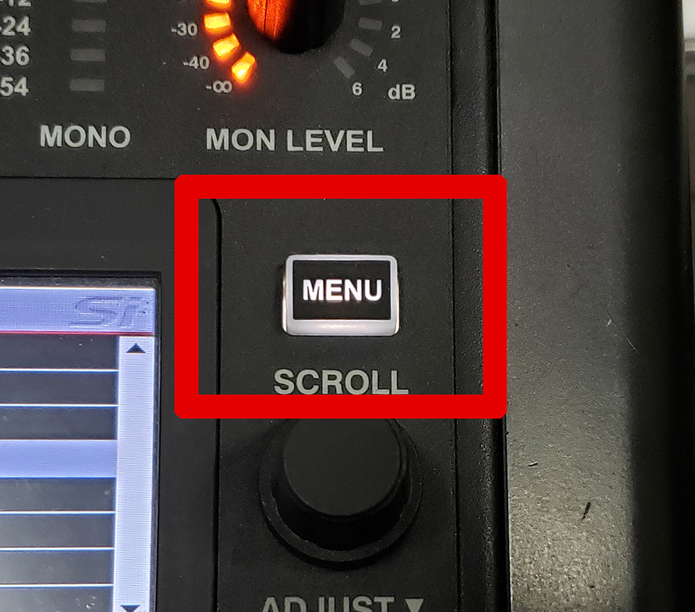 menuボタン